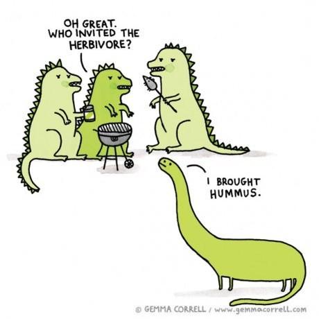 vegetarians dinosaurs web comics - 8151848704