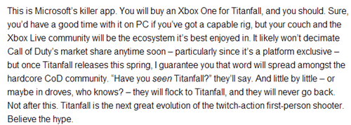 reviews,titanfall,twitter,FAIL,list,cringe,IGN,angry joe,failbook,Video Game Coverage