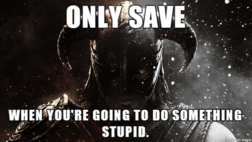 skyrim logic,video games,Skyrim