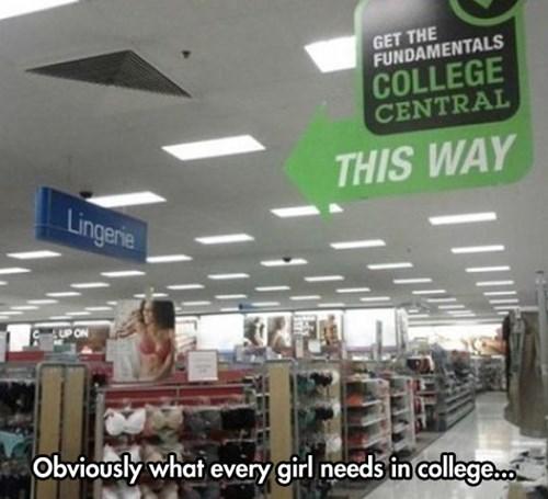 lingerie,college