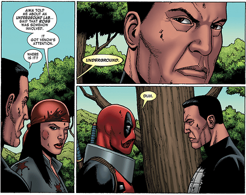 obvious deadpool Straight off the Page - 8152168704