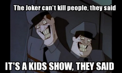 scary the joker batman - 8152186112
