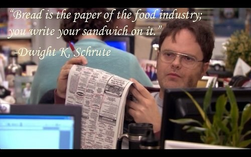 the office dwight schrute analogy quote - 8152198656
