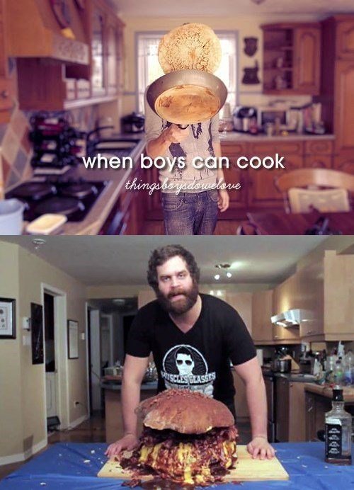 men cooking epic meal time funny women - 8152267008