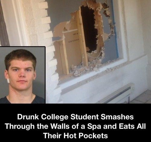 wtf,hot pockets,students,drunk,funny