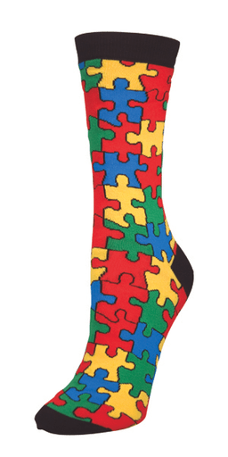 puzzle poorly dressed socks colorful win - 8152285696