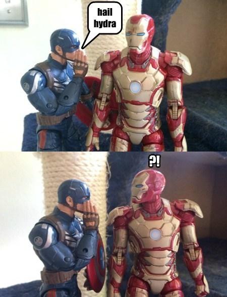 captain america cosplay iron man hail hydra - 8152289536