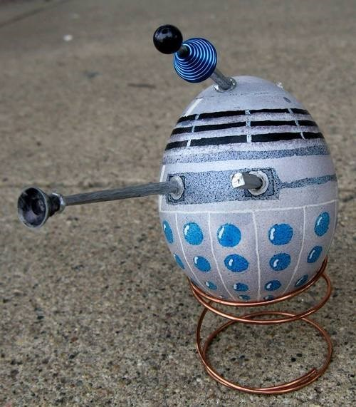 easter eggs daleks - 8152336128
