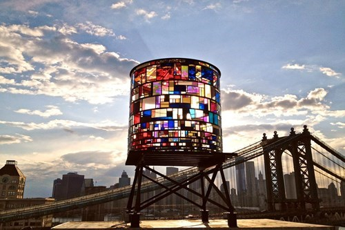 water tower design pretty colors - 8152393472