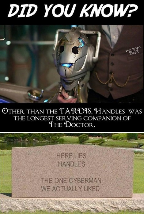 handles 11th Doctor cyberman - 8152395008