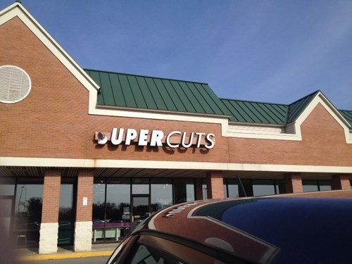 ouch sign haircut - 8152398336