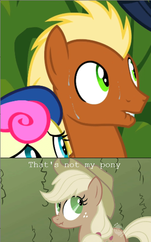background pony nervous applejack - 8152454656