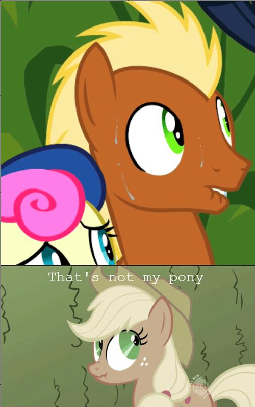background pony nervous applejack - 8152454656