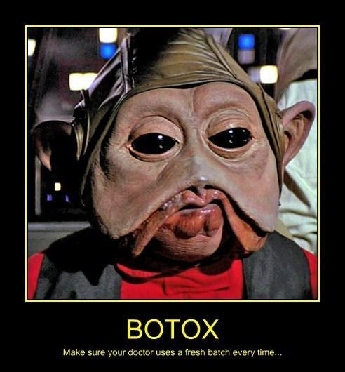 wtf botox star wars funny - 8152457472
