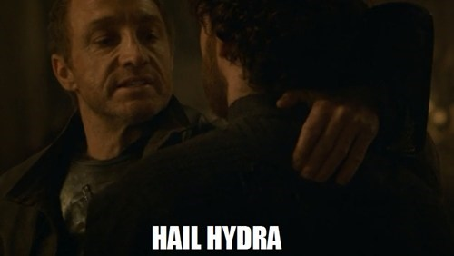 Game of Thrones,hail hydra,red wedding