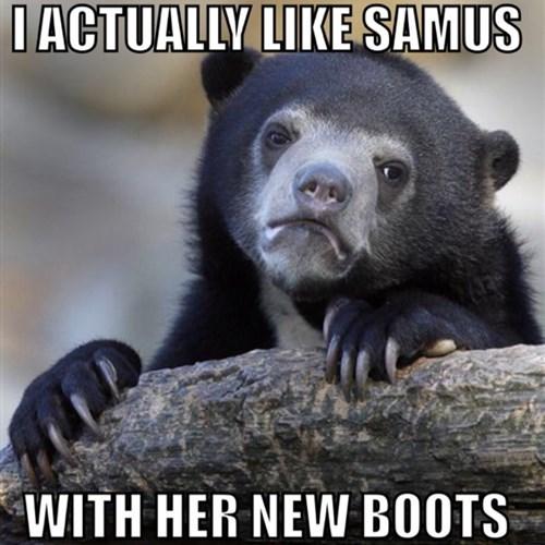 Confession Bear Memes samus