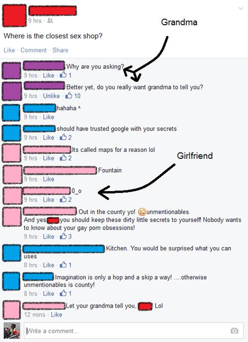 sexy times grandma Oversharing parentbook - 8153396224