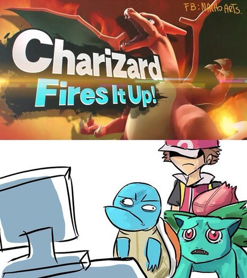 Charizard Fired it Up!