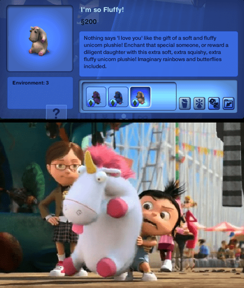 despicable me,The Sims
