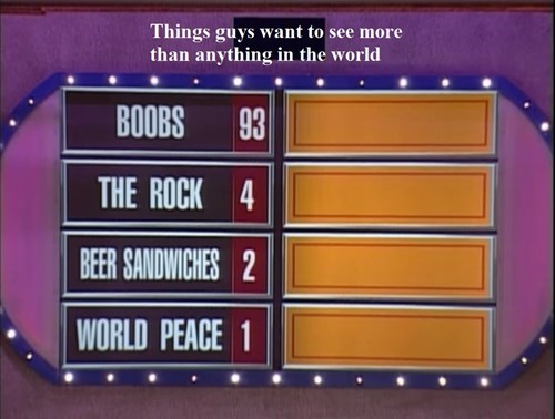 beer,sandwich,family feud,wtf