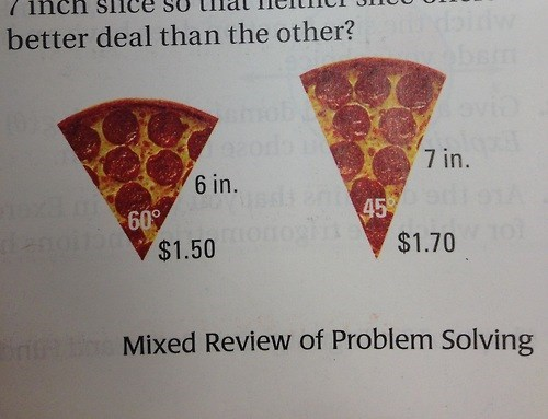 angle funny math pizza - 8153895424
