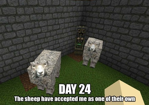 creeper minecraft sheep - 8153975552