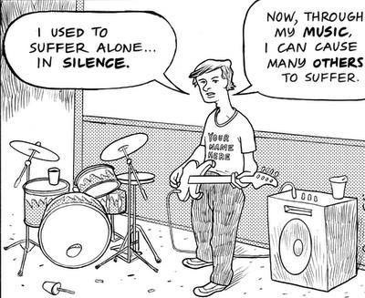 Music suffering web comics