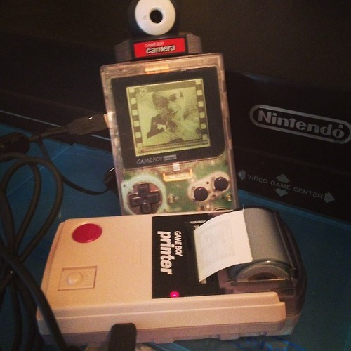 game boy,selfie