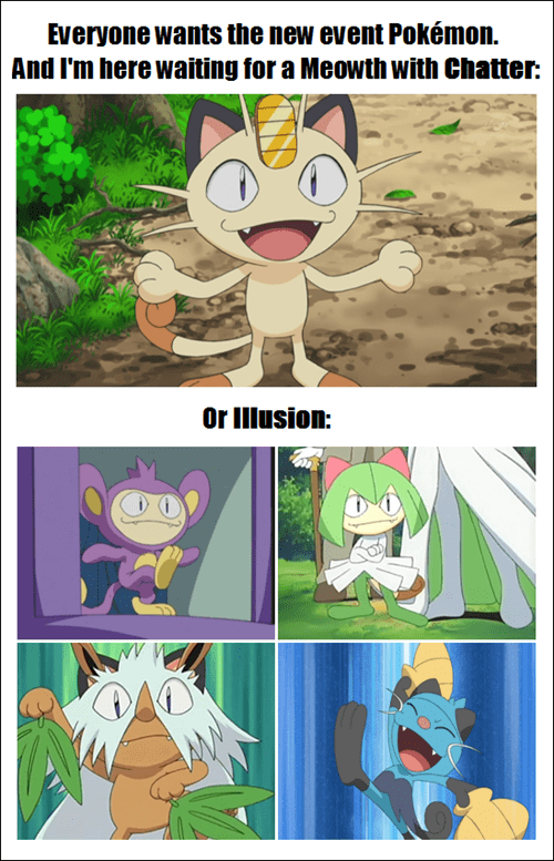 chatter Meowth - 8154031360