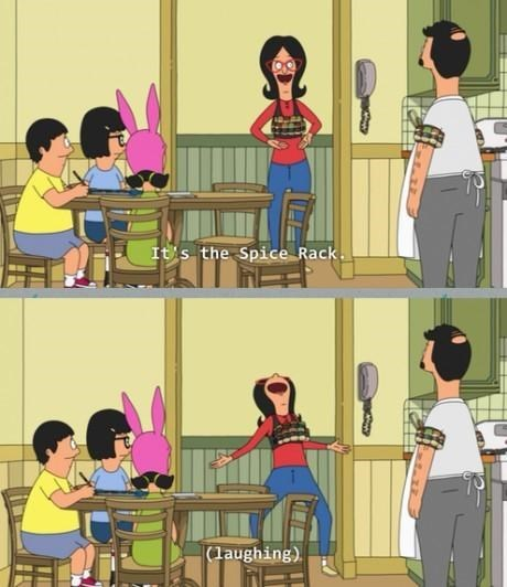 funny invention spices bobs burgers - 8154128640