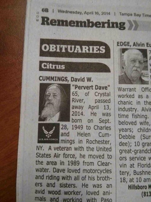 newspaper obituary rip - 8154163200
