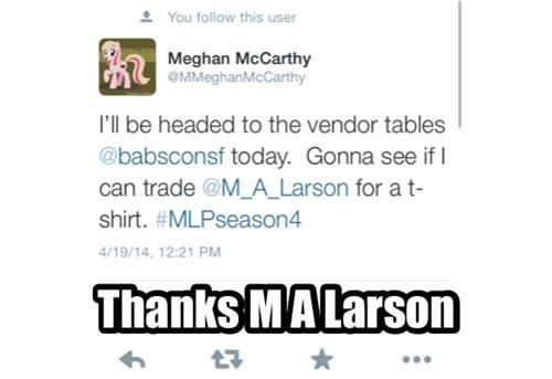 meghan mccarthy trade mlp season 4 ma larson - 8155084800