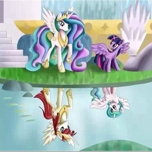 MLP princess celestia twilight sparkle - 8155111168