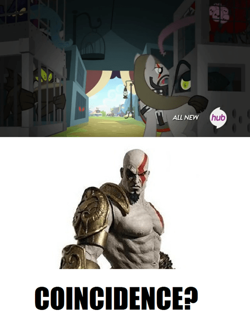 background pony MLP kratos - 8155272192