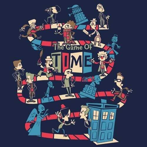 board games doctor who tshirts - 8155503872