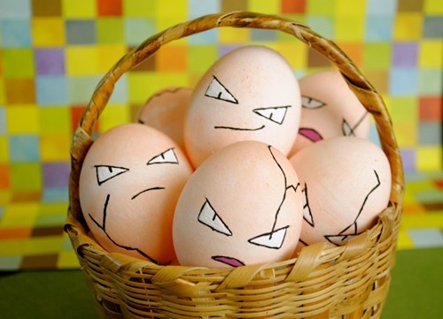 eggs exeggcute easter Pokémon - 8155884544