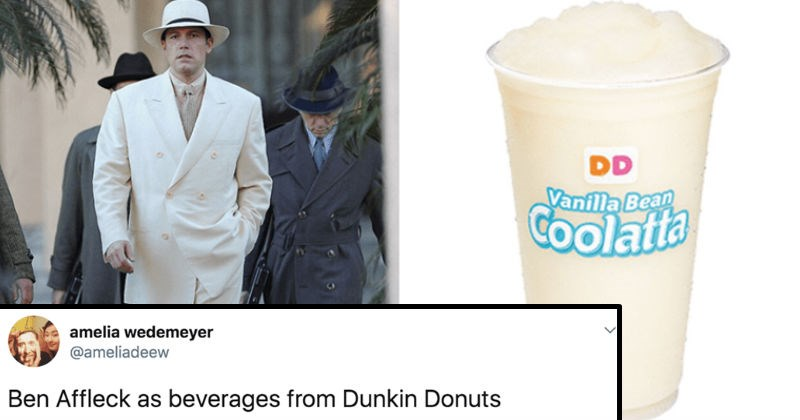 twitter ben affleck ridiculous funny dunkin donuts - 8155909