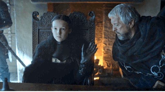 fierce queen twitter Game of Thrones favorite character sass lady mormont - 815621