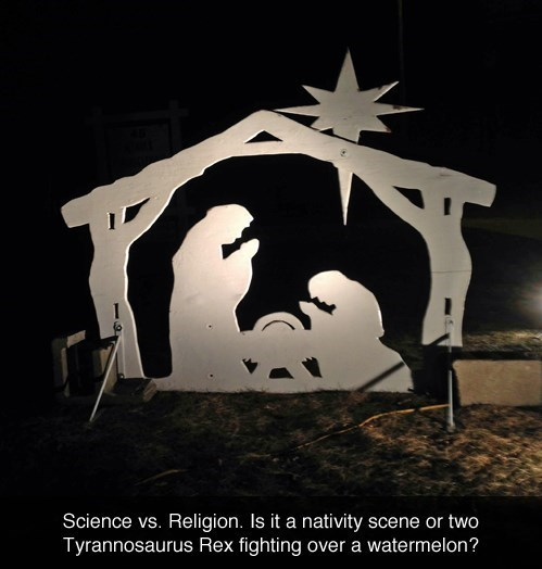 dinosaurs,jesus christ,Nativity
