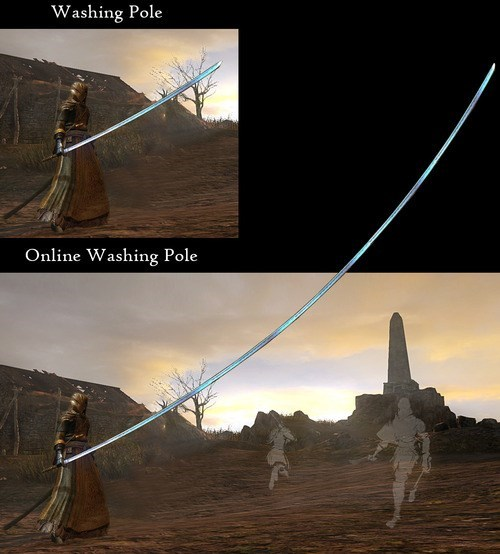 online,dark souls 2,washing pole