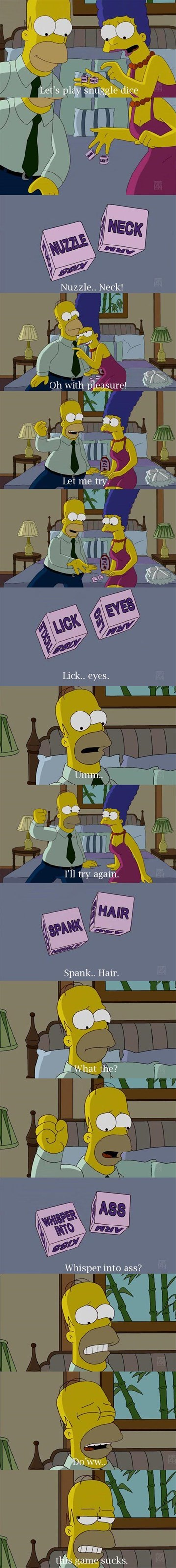 FAIL the simpsons romance love - 8157275904