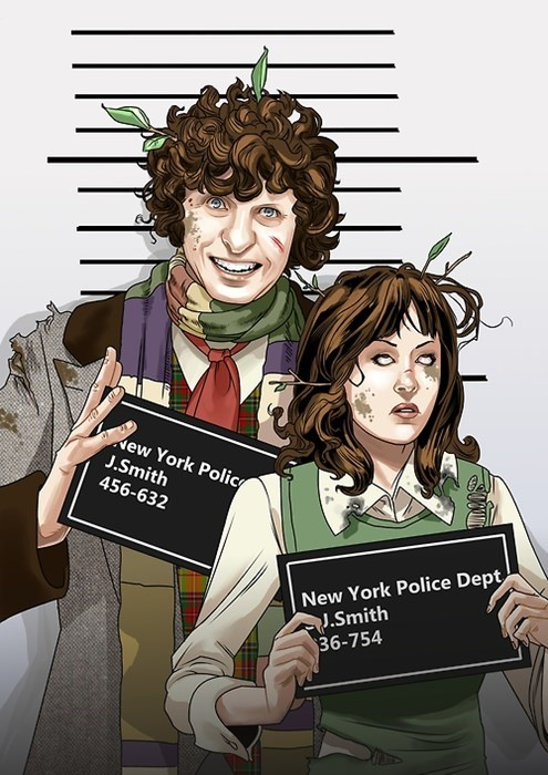 The Doctor and Sarah Jane Get Lost In New York