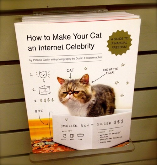 Cats books famous How To - 8157332736