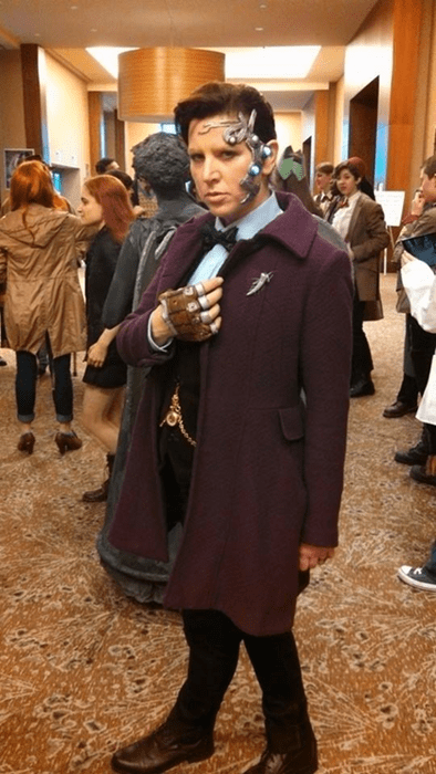 11th Doctor cosplay cybermen - 8157355776