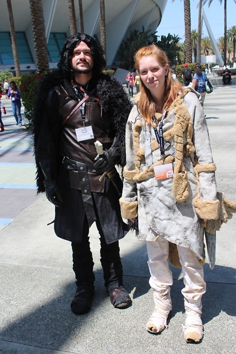 cosplay Game of Thrones Jon Snow ygritte - 8157356800
