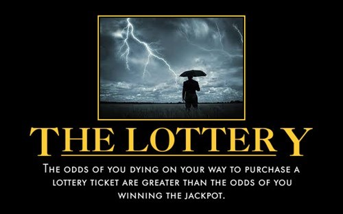 bad idea funny lottery idiots - 8157444608