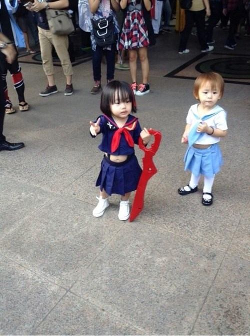 cosplay kids anime cute kill la kill - 8157536512