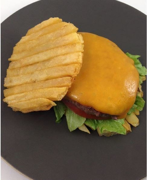 burgers fries fast food - 8157630720