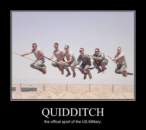 Harry Potter funny quidditch military - 8158155520