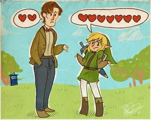 11th Doctor link hearts - 8158254080